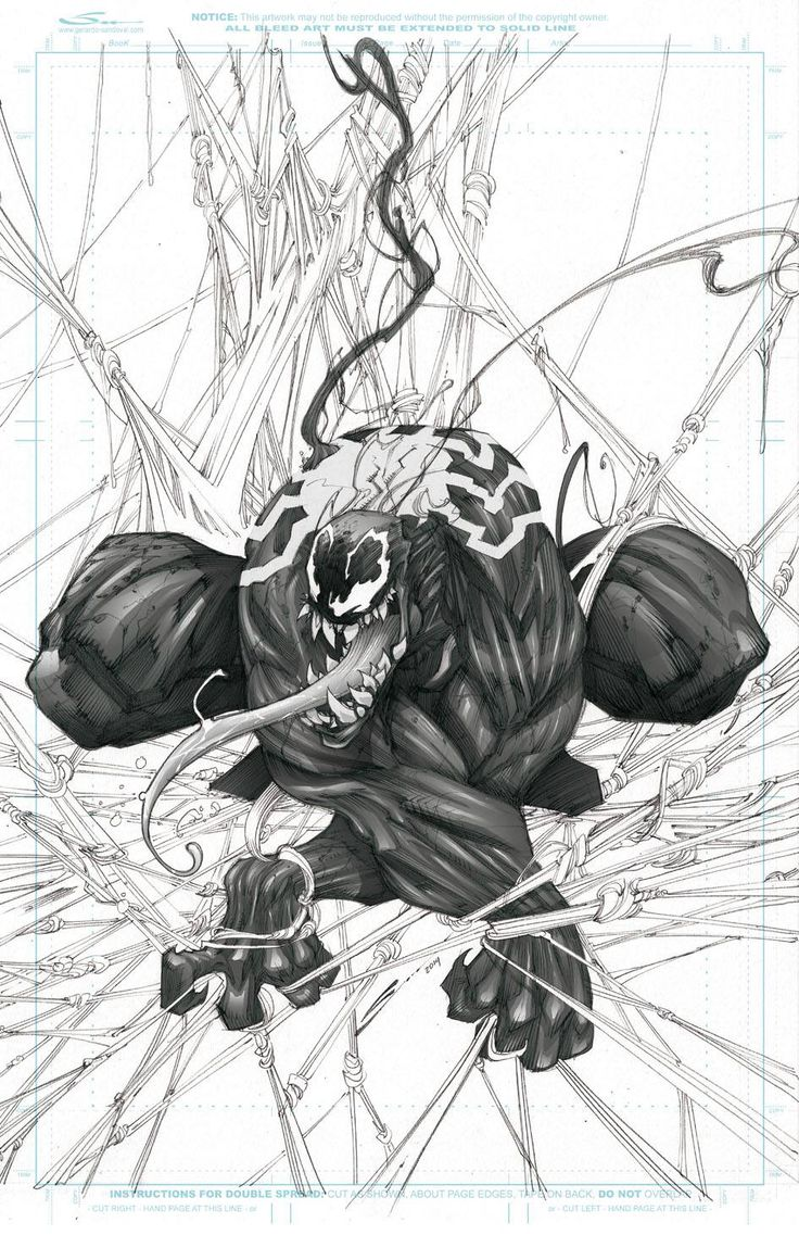 Venom by Gerardo Sandoval *