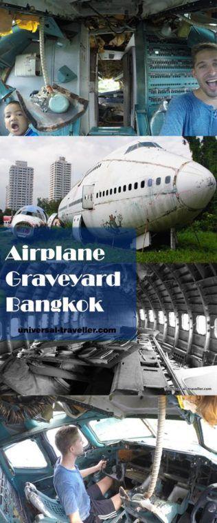 Airplane Graveyard Bangkok, Thailand