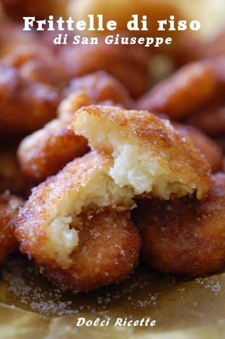 Frittelle di riso di San Giuseppe #frittellediriso #frittelle #sangiuseppe #festadelpapà