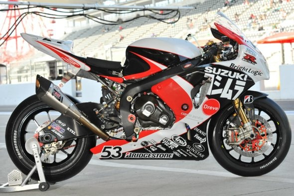 All Japan Superbike 2012 - Yoshimura Suzuki