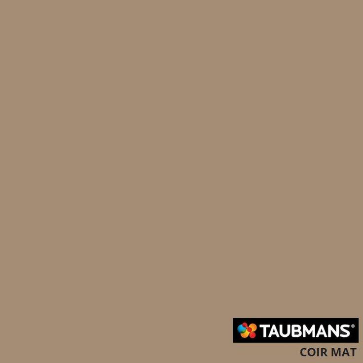 #Taubmanscolour #coirmat