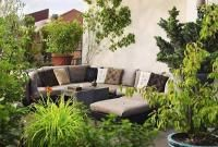 How to decorate the patio or the terrace with plants 1