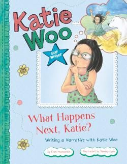 E MAN - I'm Katie Woo. Did you know that narrative is another word for story? I just love writing narratives and sharing them with my friends. There are all kinds of narratives: scary, sad, adventurous, and my favorite, funny! If you've never written one yourself, read my tips and give it a try.
