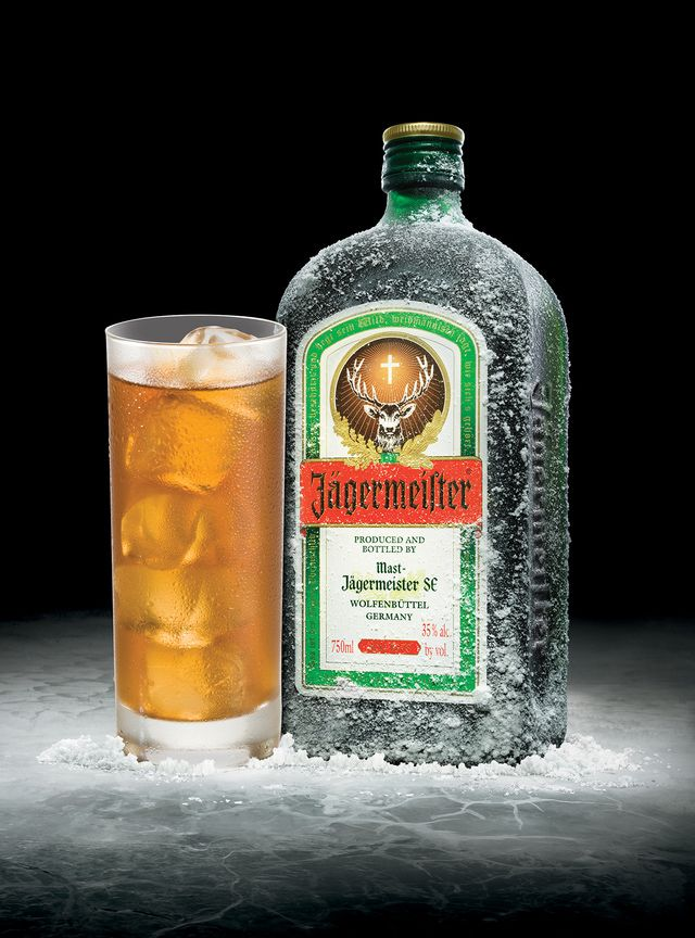 10 recipes that prove you should be drinking more jager for Most common drink recipes
