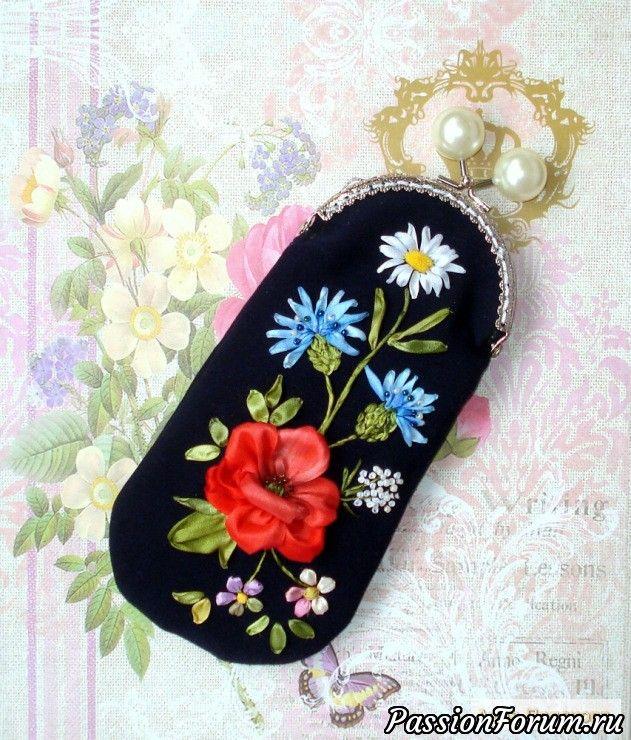 """Очечник """"Летние цветы"""""""