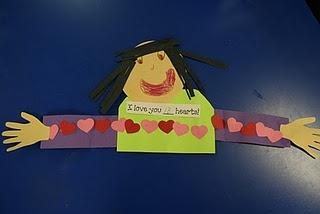 I love you ____ hearts!!!Measuring Activities, Lee Kindergarten, Valentine'S Day, Valentine Day Crafts, Valentine Cards, Green Beans, Beans Kindergarten, Math Activities, Classroom Ideas