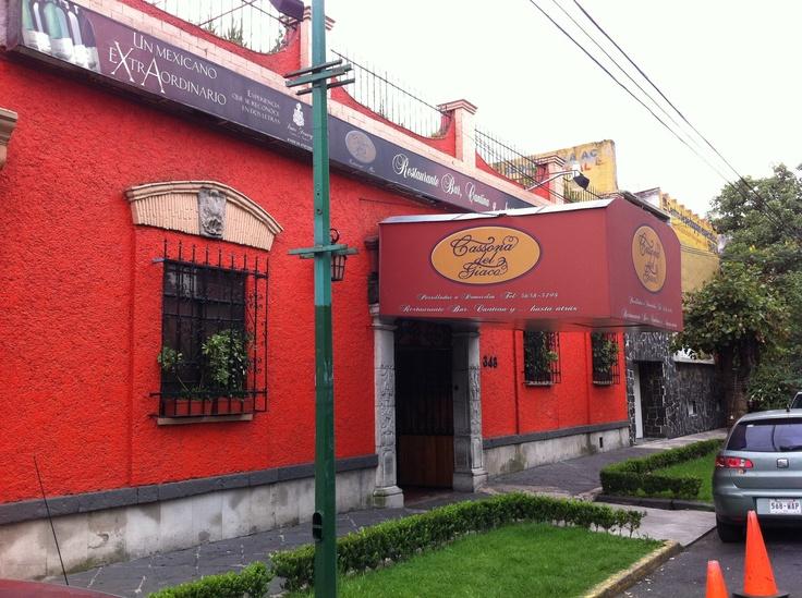 Restaurant La Cassona del Giaco  Especialidad en Comida Argentina  Propiedad de Reynaldo Giacomini, Ilustre Necaxista.