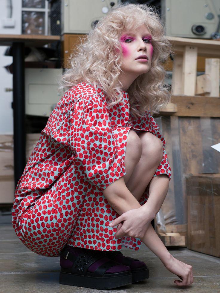 JUTE  MAGAZINE  photographer: Evgenya Kayumova stylist: Olga Alt hair/makeup: Alina Starkova  model: Olsen @ ModusVivendiS location: Grand WORKPLACE (Moscow)