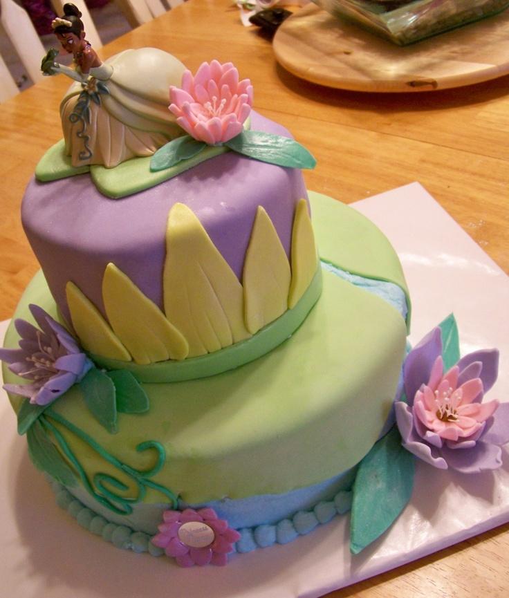 Princess Tiana Birthday Cakes Disney Princess Tiana And