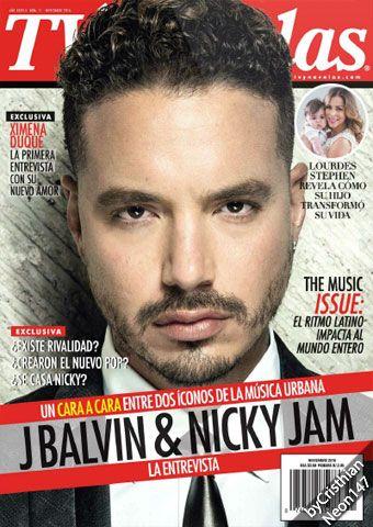 TV y Novelas USA (Español) - Noviembre 2016 - J Balvin & Nicky Jam, cara a cara entre dos íconos