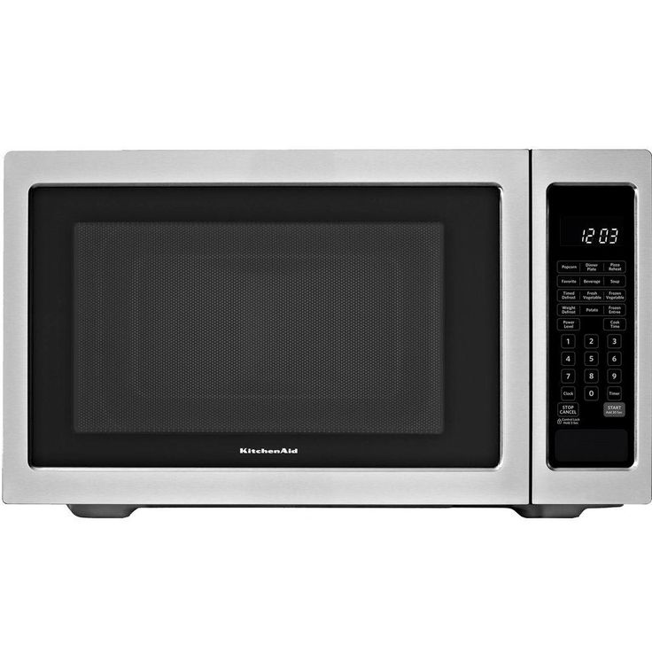 KitchenAid Architect Series II 1.6 Cu. Ft. Countertop Microwave In  Stainless Steel (Silver