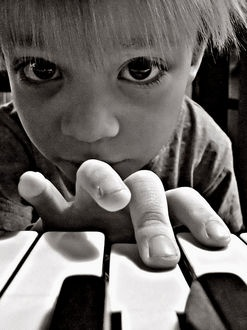 One of the most interesting dimensions of the piano is the pianist. The piano can lend itself to the hand, mind, soul, spirit, and even face of the pianist as an audible part of its world of expression. It is willing to look with the pianist at self-expression, to discover different points of view, and to say it another way.