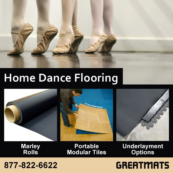 With Our Large Selection Of Home Dance Flooring Options You Can Create The Home Dance Studio You Have Always Home Dance Flooring Options Portable Dance Floor