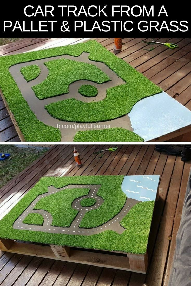 This would make an awesome sensory sandbox lid! Re…