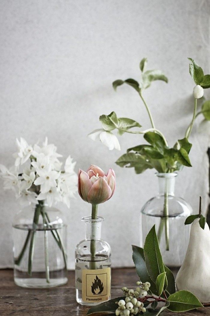Blooms in jars