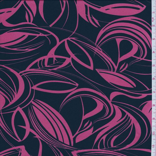 blackpink floral charmeuse