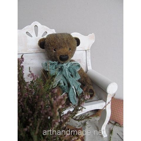 Teddy bear Mark. Author Anna Kolomiets - http://arthandmade.net/kolomiec.anna  Teddy, bear, teddy bear, toy, collectible toy, gift, original gift, teddy artist, handmade, craft, тедди, мишка, мишка тедди, игрушка, коллекционная игрушка, подарок, оригинальный подарок, художник, ручная работа