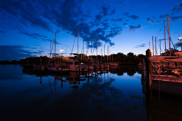 Downtown Safety Harbor Florida, took this tonight with my new DSLR Canon 5D Mark II