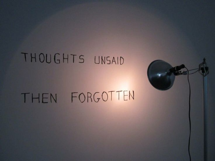 Bas Jan Ader - thoughts unsaid then forgotten