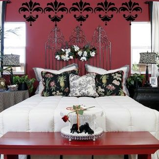 damask bedroom ideas damask designs bedroom office modern border 11x12 vinyl wall decal. Interior Design Ideas. Home Design Ideas