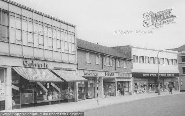 Runcorn, Town Centre c1965