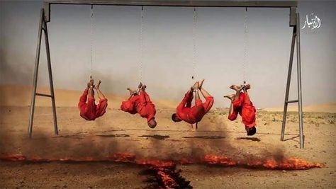 VIDEO: Muslims Take Four Innocent People, Tie Them By Their Arms And Legs, And Slowly Cook Them To Death