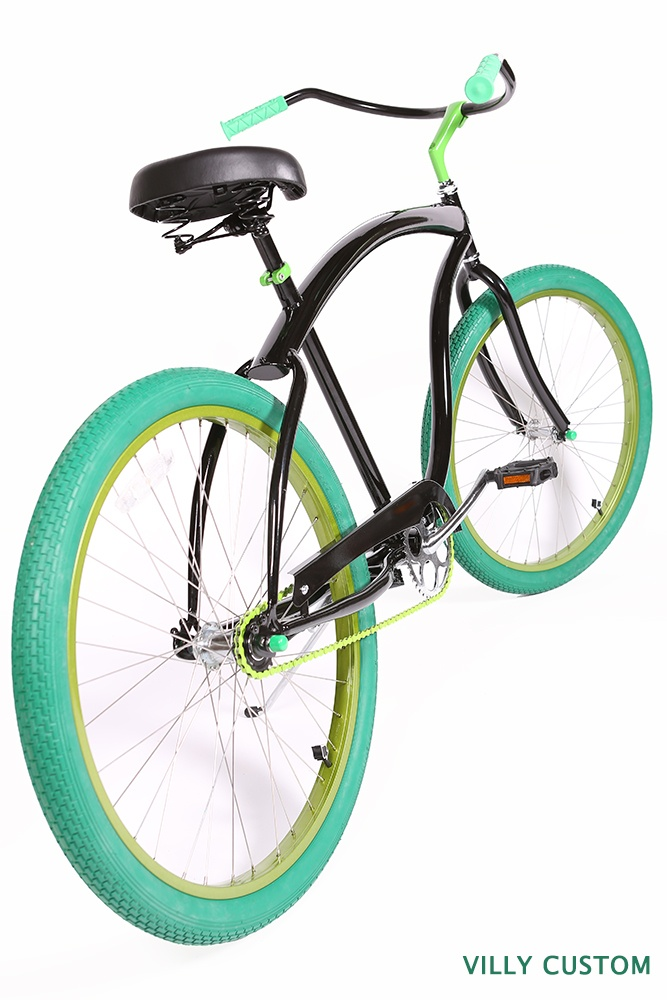 Check out this custom beach cruiser bicycle :) www.villycustoms.com