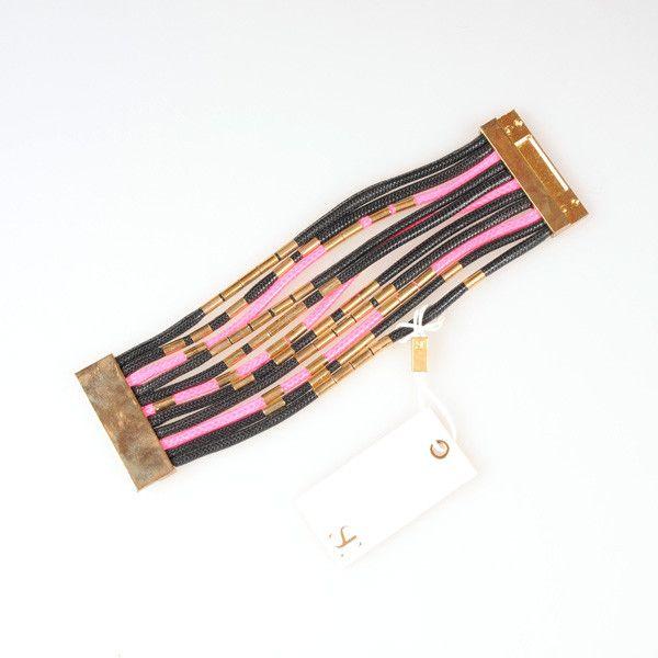 Supertrash-Agnes armband roze - Damesaccessoires - Handtassen & Accessoires - Dames
