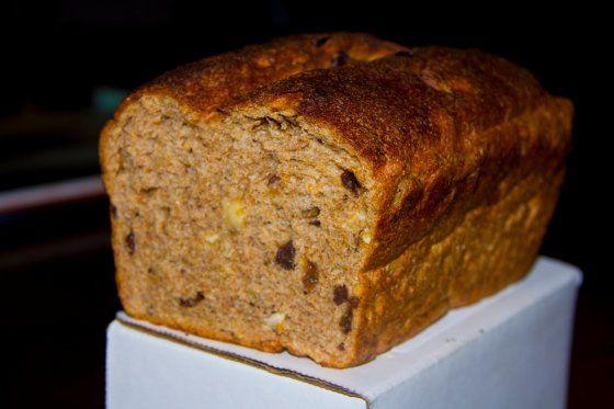 Roasted Hazelnut Raisin Whole Grain Wheat Bread - Direct Method Recipe - Food.com