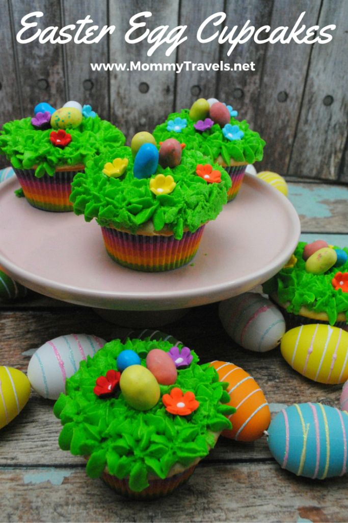 56 best easter images on pinterest easter ideas easter crafts easter egg vanilla cupcake recipe negle Image collections