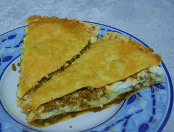 Tortilla Pie | T&T Cooking and Baking | Pinterest