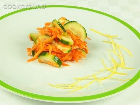 Insalata di carote e cetrioli