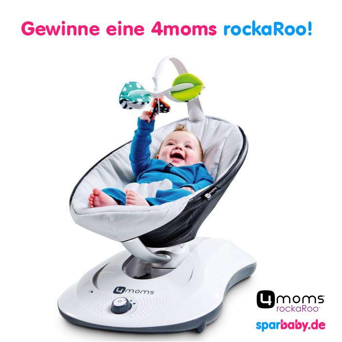 Genial: Wir verlosen die  Babywippe RockaRoo von @4moms - hier kannst du mitmachen  #baby