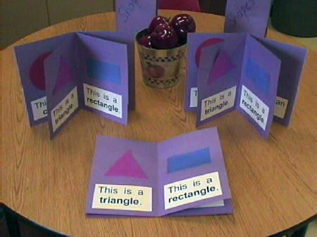 Shapes Booklet (idea: add shape poem/song on each page)
