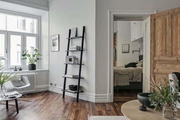 Small apartment in Gothenburg exudes charm and spaciousness