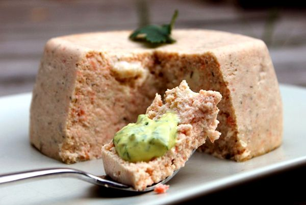 Smoked Salmon Terrine Recipe -||-  The mix of smoked and fresh salmon is quite common in french cuisine and this add more texture and depth to the terrine.