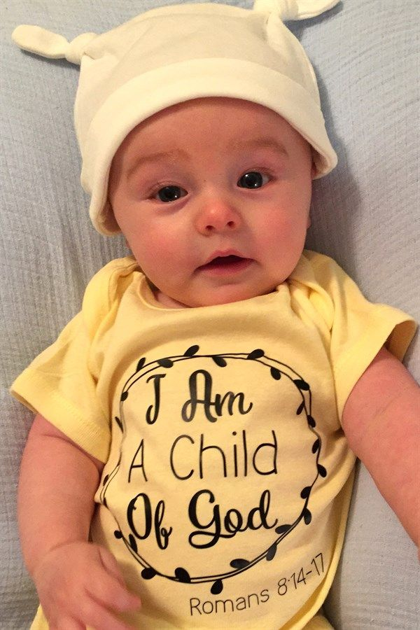 These beautiful Bible Verse Onesies make great gifts! With this deal, you will be able to customize the perfect, unique onesie for your child. These onesies are available in 5 sweet Bible verses, 14 cute colors, and sizing to fit newborns to 24 month olds.