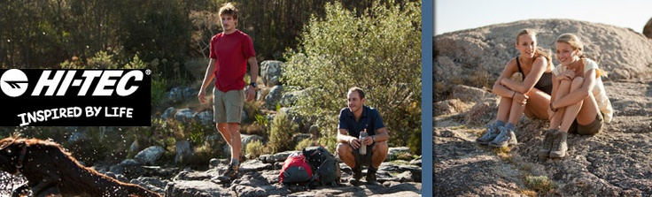 Hi-Tec hiking boots and shoes for your every adventure at @CAMPMOR