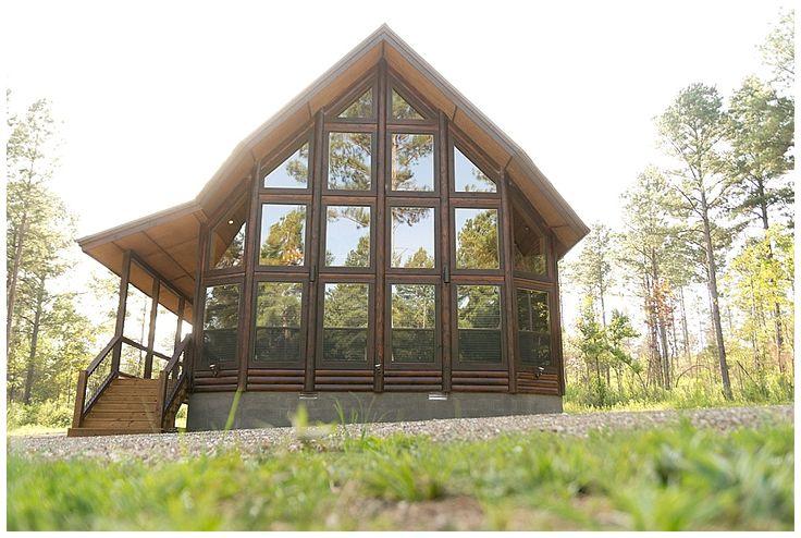 Firefly cabin in broken bow oklahoma savanna sutton for Cabin wedding venues