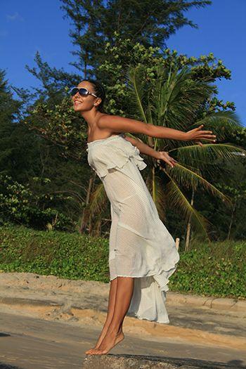 Изделие: Пляжное платье Материал: Шифон