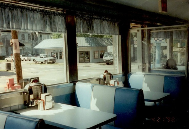 diner. Like this in ref to the cut off curtains