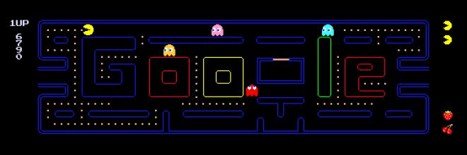 Interactive Google Doodle Celebrates Pac-Man's 30th | Game|Life | Wired.com