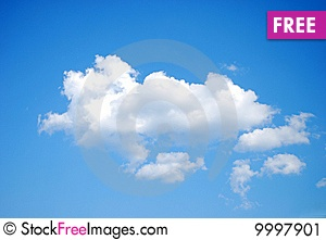 stockfreeimages: Fluffy White Clouds on Blue Sky - Saccessibility air beautiful blue clean clear cloud clouds cloudscape copy day fluffy freedom heaven high mid nature nobody only open outdoor outdoors simple single sky space sparse stratosphere tranquil white