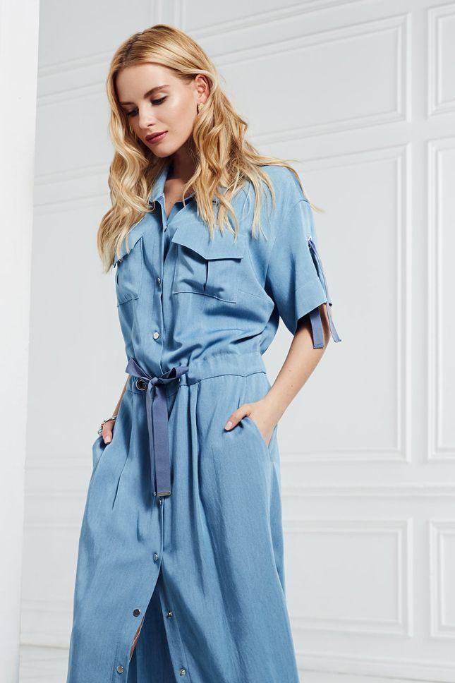 Одежда для офиса и городских прогулок в весенне-летней коллекции Caterina Leman