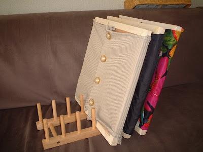 dressing frames support à faire avec bout de bois et tourillons?