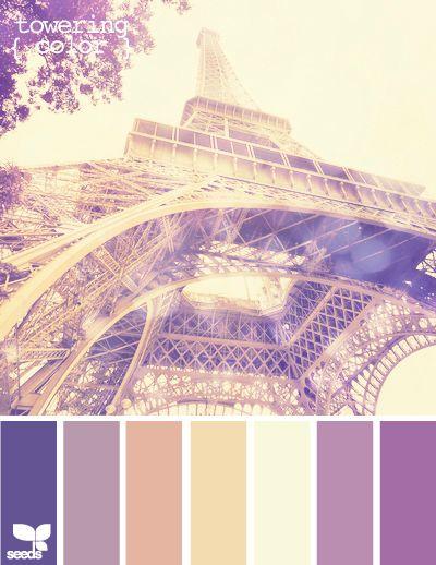 Antique paris colour scheme monochromatic browns for Color design paris