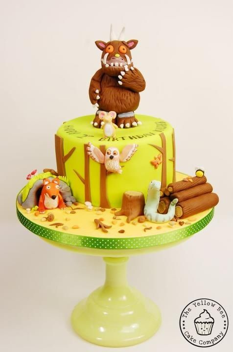 Gruffalo cake- Love, love, love it!