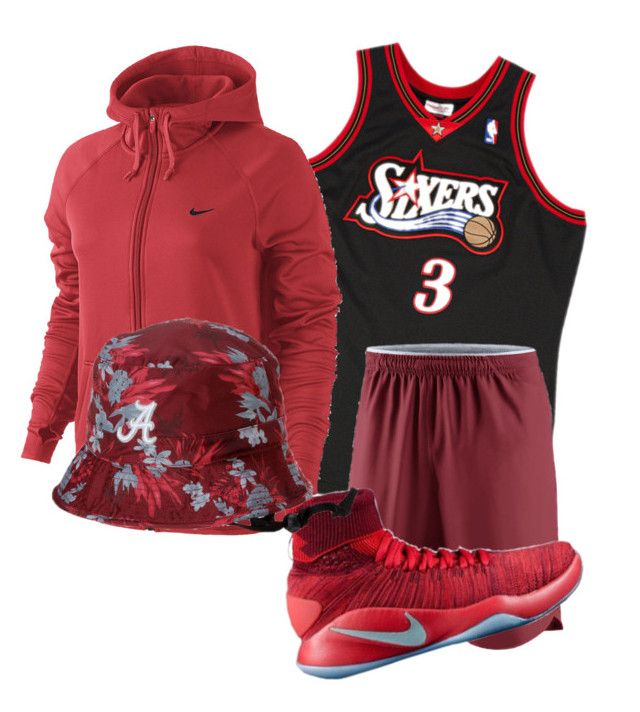 roolltiderooll by rockwoodoriginal on Polyvore featuring NIKE, men's fashion and menswear