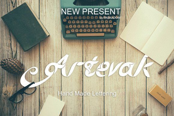 Artevak by MARSOSE on @creativemarket