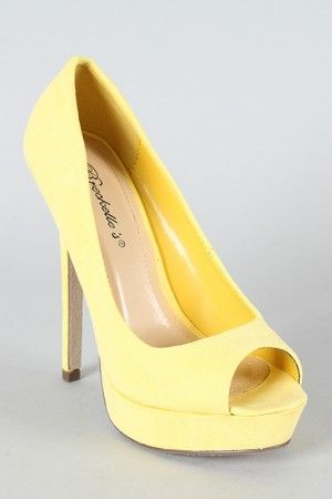 they dont have my size but ohhh my gosh these are cute and yellow wedding shoesyellow pumpsgrey